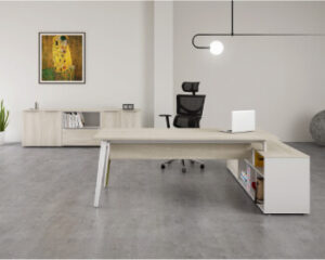oficina blanco artico
