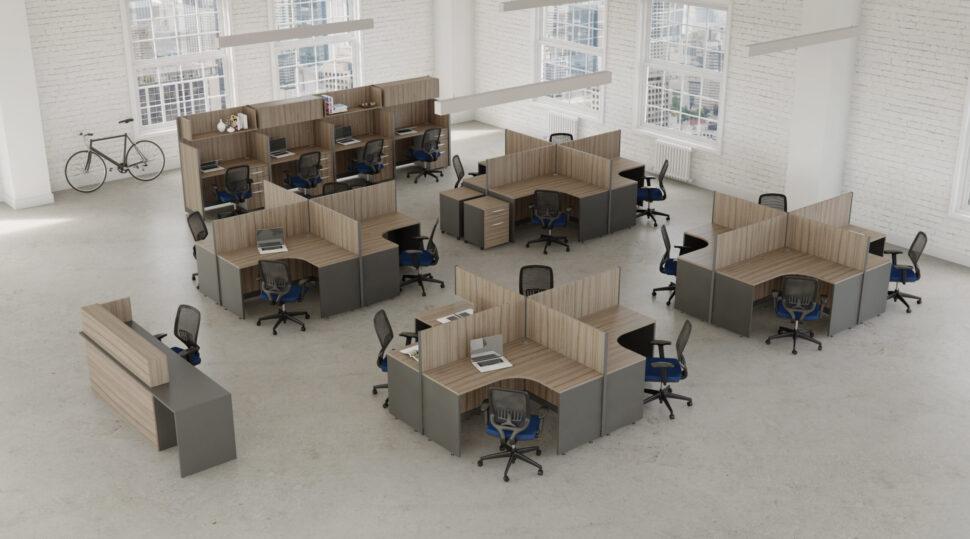 Mejore la productividad de sus colaboradores mediante el diseño de interiores