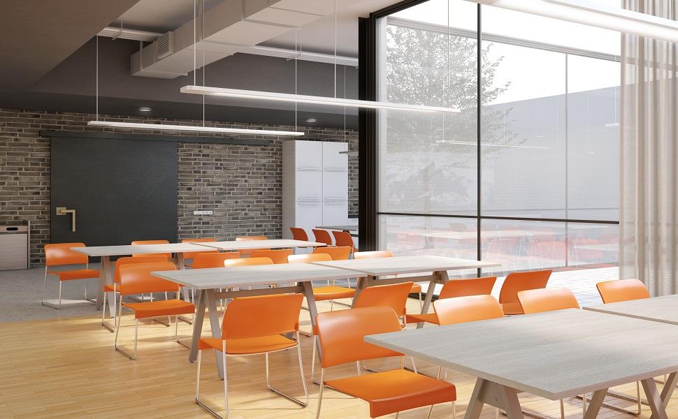 Mantenga sanos a sus empleados con comedores en la oficina